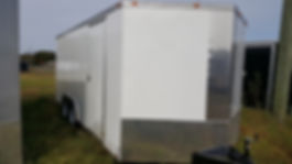 8.5x16 Enclosed Cargo Trailer