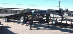 D2E 48 Triple Axle Wedge Trailer