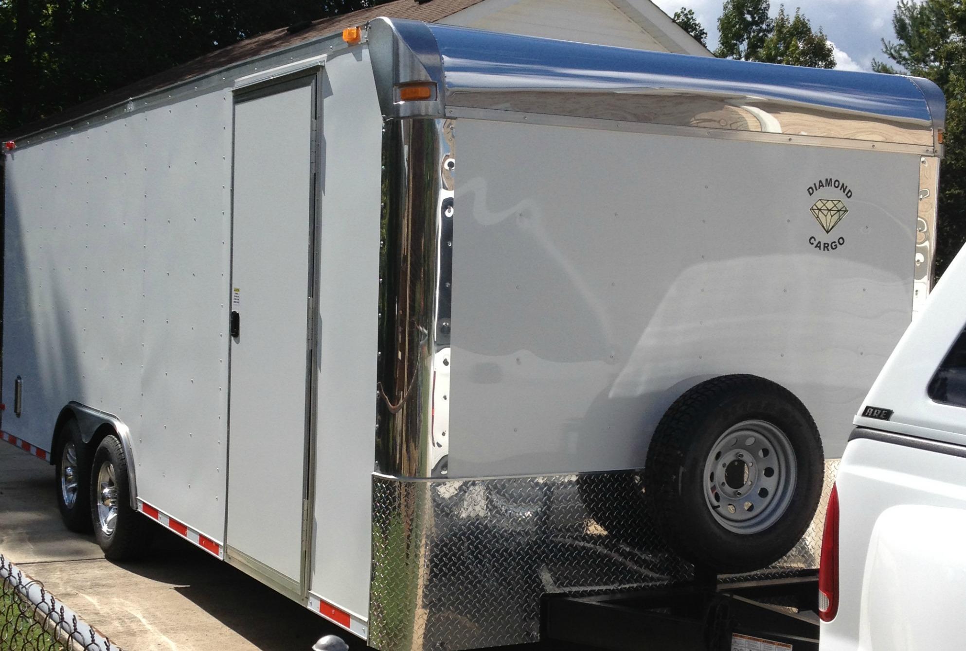 Diamond Cargo Trailer Front Cap