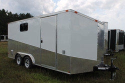 8x16 Enclosed Motorcycle Trailer