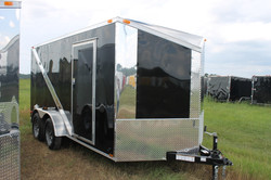 7x16 Enclosed Trailer Slanted V-Nose
