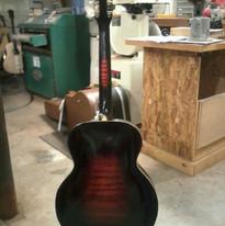 Gibson refinish (back, post)