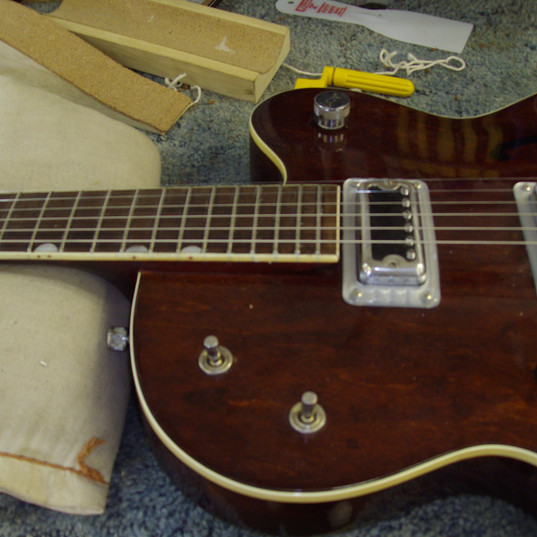 1962 Gretsch after repairs