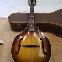 1964 Gibson A9 after