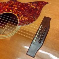 Gibson J45 split face repair