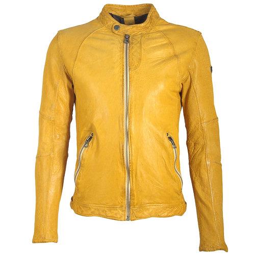 Men's biker jacket in slim fit