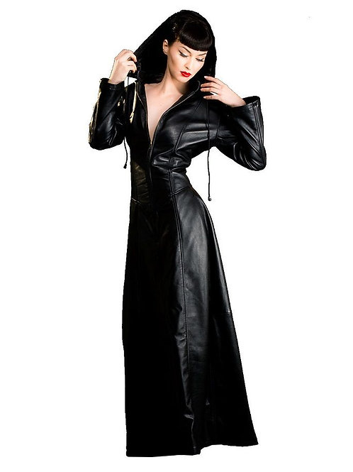 Hooded Gothic Dress