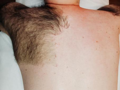 Pánská depilace zad + brazilská depilace pro muže!