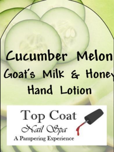 Cucumber Melon Goat's Milk & Honey Lotion