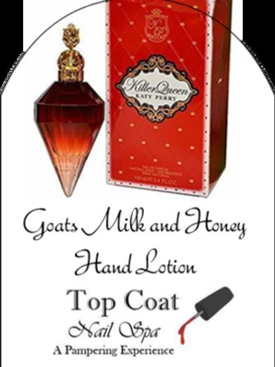 Killer Queen Goat's Milk & Honey Lotion