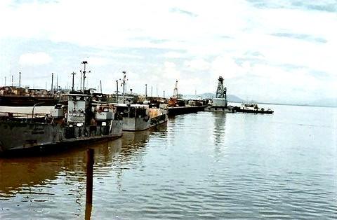 LCU docking area