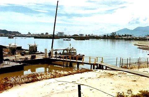 Bridge to PBR docks
