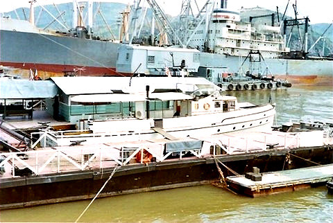 The General's yacht - 65' Army Q-Boat