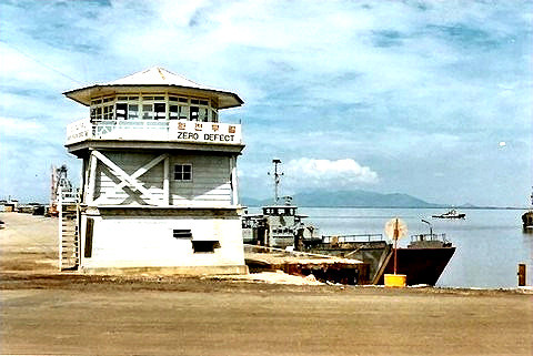 Harbor Control Tower & LCU docks