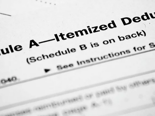 IT'S NOT TOO LATE! Tips for your 2017 Year End Tax Deductions!