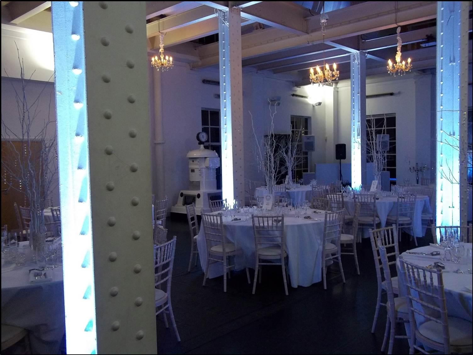 White Winter wedding November 2014.