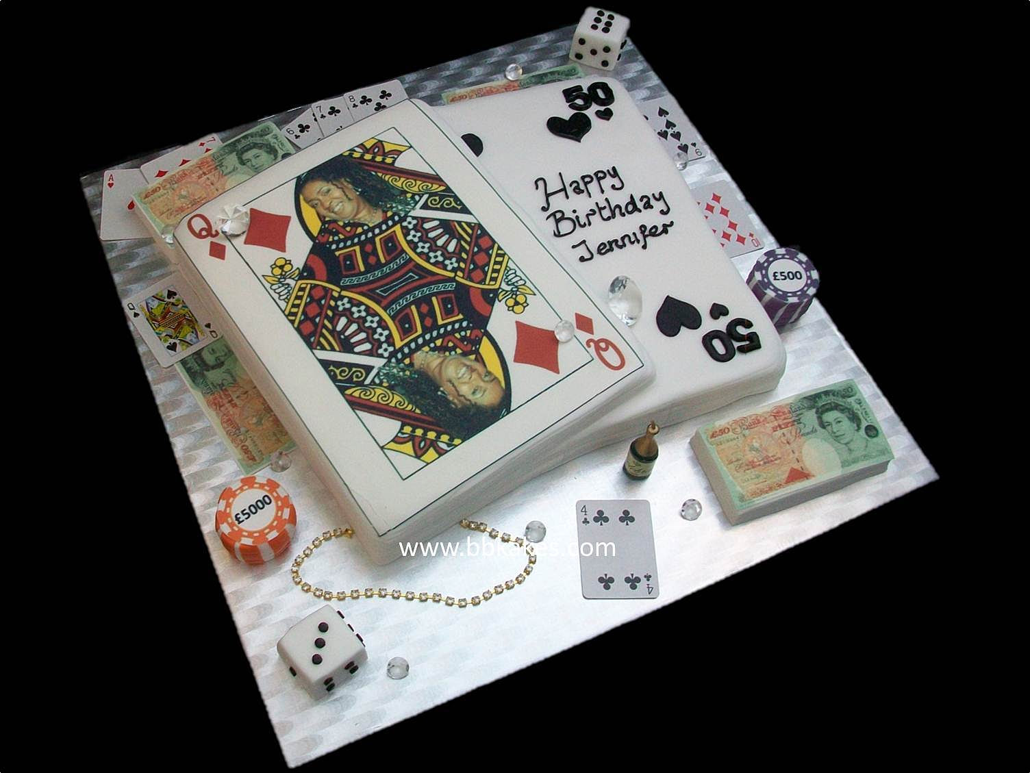 Playing Cards Cake Images