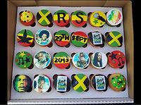 reggae Salute cupcakes