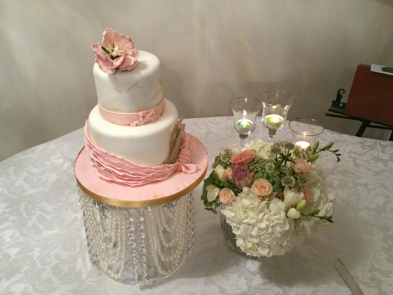 Nai Vintage two tier music cake 2015