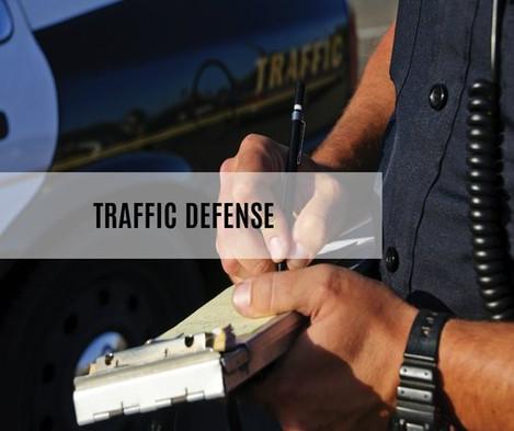 Traffic Defense