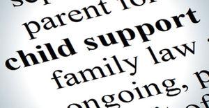 child support login va