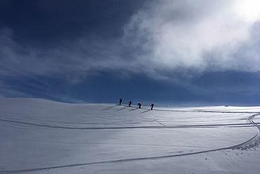 Ski touring, off piste lesson