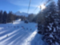 Peisey Vallandry Ski area