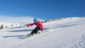 Ski carving lessons