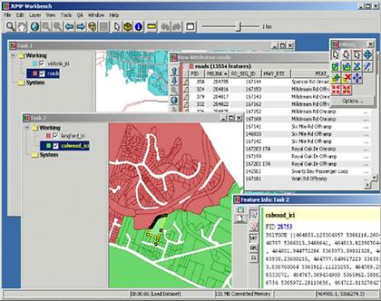Screenshot of Java Unified Mapping Platform (JUMP)