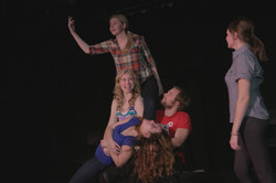 Improv Comedy performance
