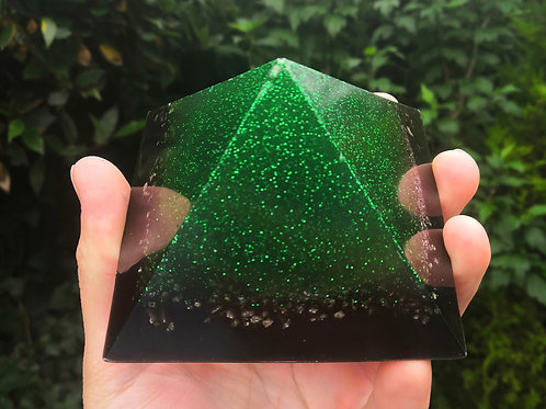 Kids Protection Pyramid- Green glow in the dark ( 5g,4g,3g Protection )