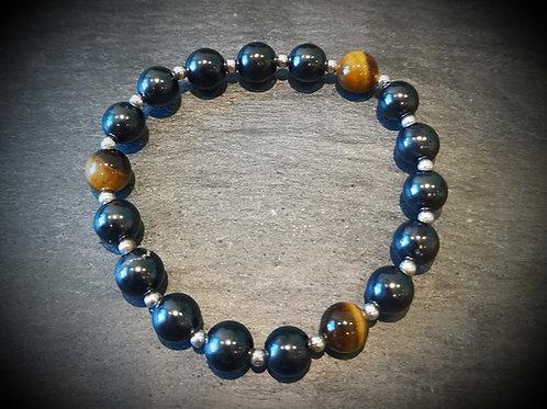 Tigers Eye and Shungite bracelet!