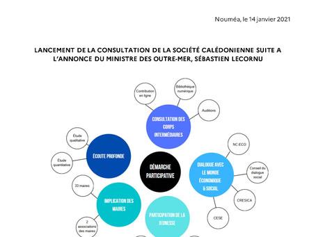LANCEMENT DE LA CONSULTATION DES CORPS INTERMÉDIAIRES DE LA SOCIÉTÉ CALÉDONIENNE