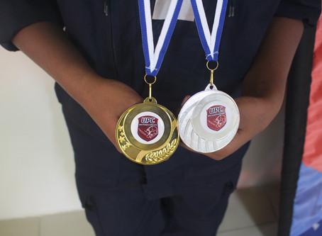 Remise des médailles pour nos JSP