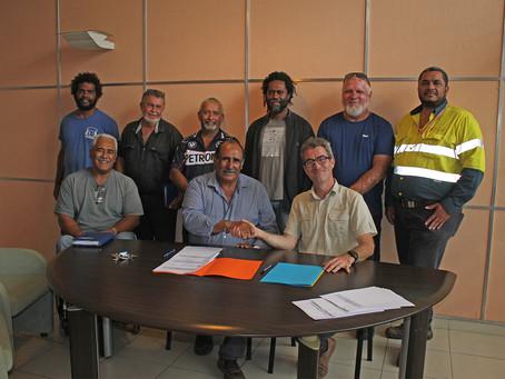 La SLN pérennise ses partenariats avec commune de Koumac.