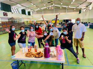Élan de solidarité au vaccinodrome de Koumac