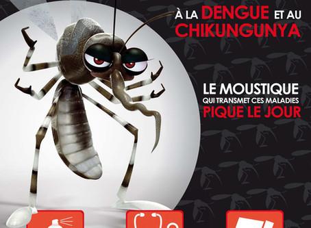 Restons vigilent face à la Dengue !