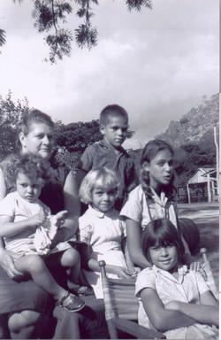 Marguerite Miloud et ses enfants