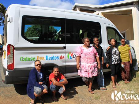 Nouveau véhicule pour la Caisse des Écoles de Koumac