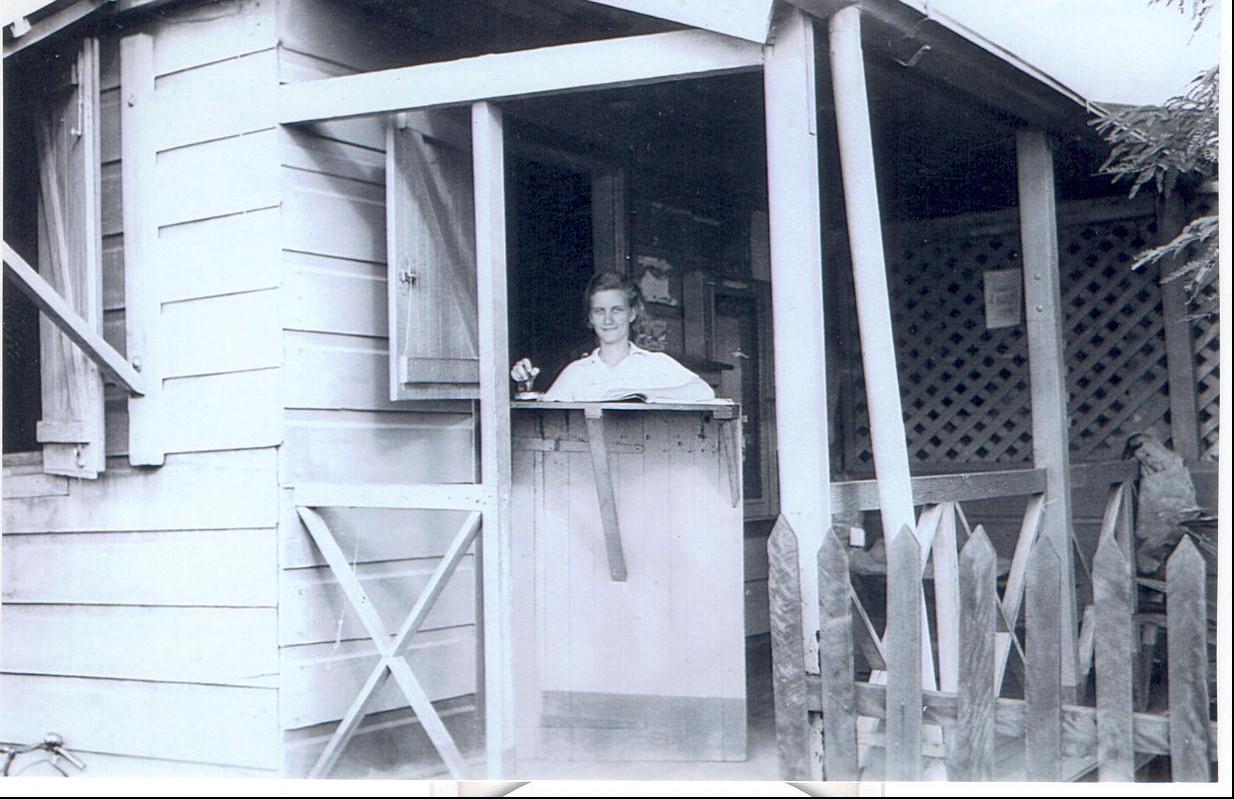 Koumac Mars 1939 La poste jour de courrier