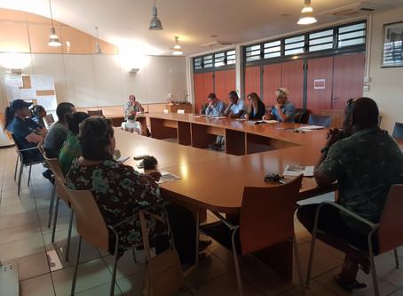 Réunion publique - Présentation du Centre de détention de Koné