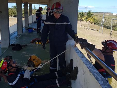 Manœuvre mensuelle des pompiers du SIVM NORD