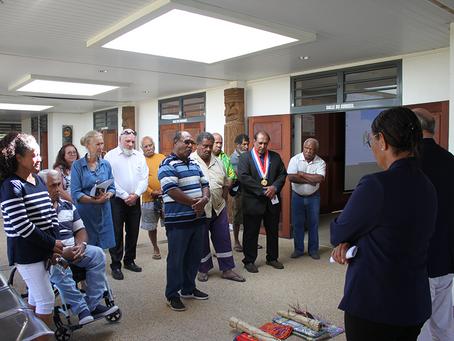 Visite de Koumac par le Haut-commissaire