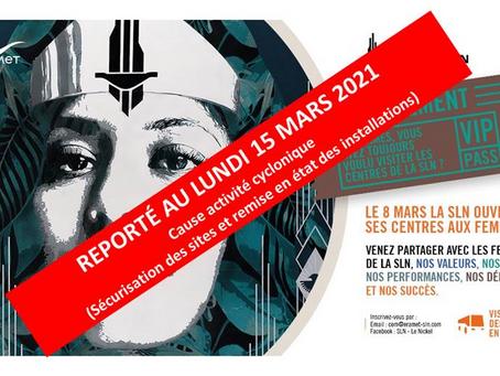 La SLN invite les femmes de Koumac - Journée mondiale pour le droit des femmes.