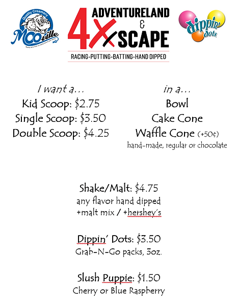 2021 Ice Cream Pricing