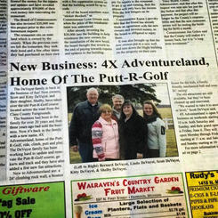 Clare County Cleaver Article 2014