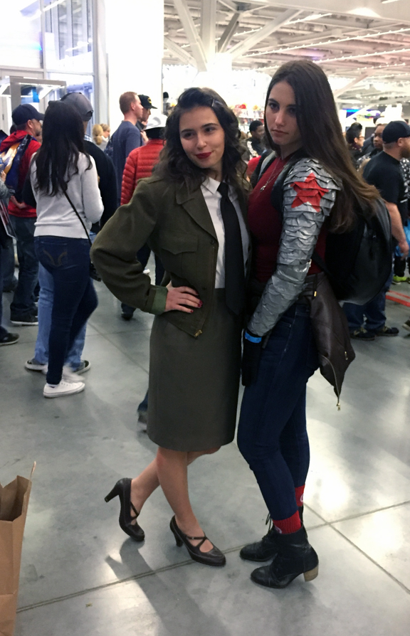 Winter Soldier n Peggy Carter