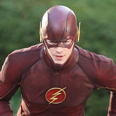 The Flash's new clothes...