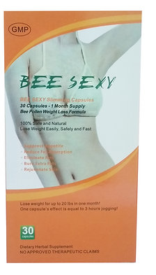 Bee Sexy Slimming Capsules - 1 Box of 30 Capsules