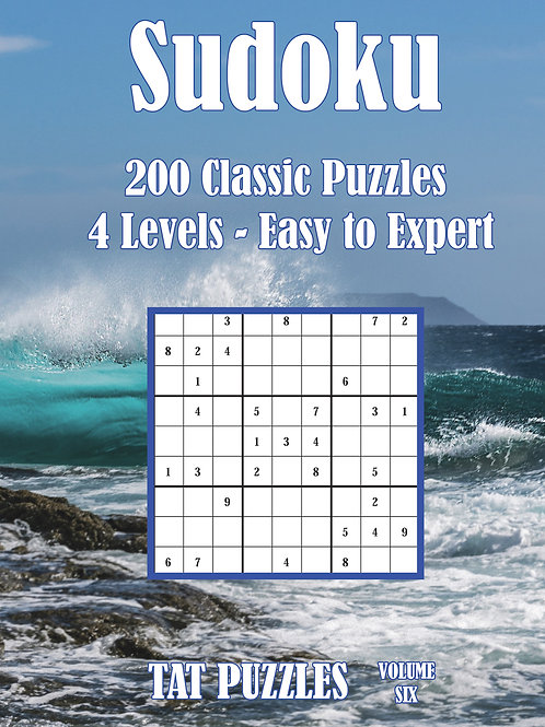 Sudoku 200 Classic Puzzles Volume 6